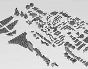 3D model brick LEGO Brick pack