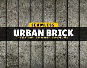 3D model Texture Pack Seamless Urban Brick Vol 01