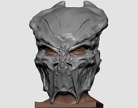 3D printable model Ceremonial hunter mask