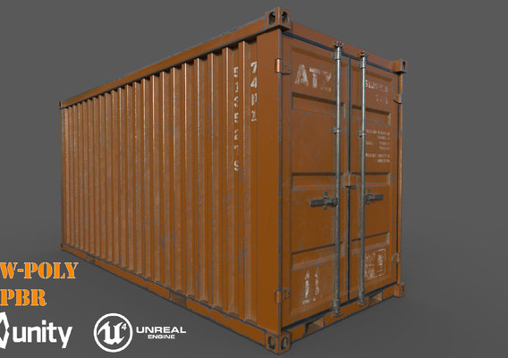 Old Oranges Shipping Container