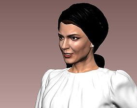 Leila Hatami 3D Model ready for 3d print theater