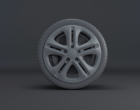 3D Wheels set 01