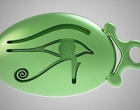 3D printable model Eye of Horus Keychain