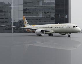 Boeing 787-9 Etihad 8K 3D