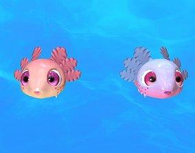 Axolotl 3D model