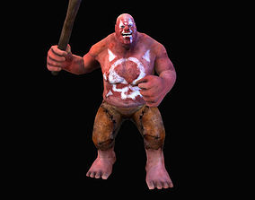 Character Fat Troll 3D model