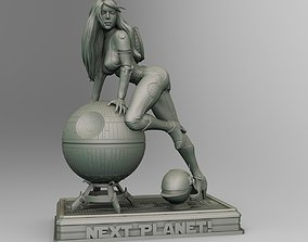 Star Wars Death Star operator pin up 3D printable model