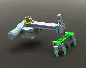 3D Rotating clamping mechanism