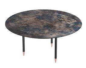 De Castelli Roma Side Table 3D asset