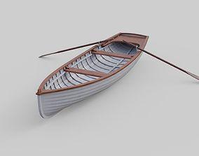 3D model Rowboat 1B