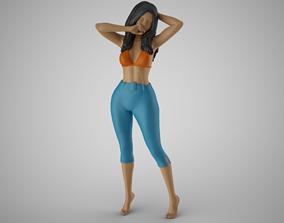 3D print model Woman Spring Mood 7