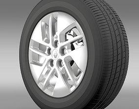 Renault Trafic wheel 2015 3D
