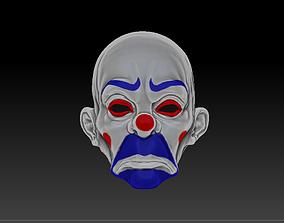 3D printable model GMASKING BATMAN JOKER MASK