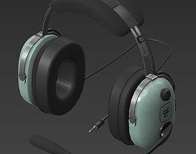Headset 3D asset