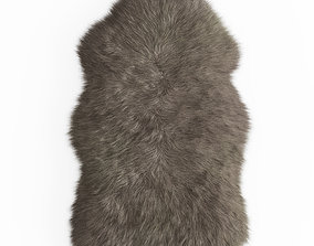 3D Faux Fur Mongolian Rug