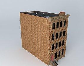 Row House Flats 3D