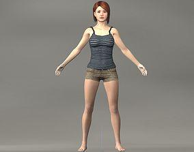 3D asset Adriana