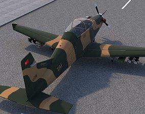 3D model Hurkus C Airplane