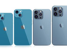 3D model iPhone 13 Series