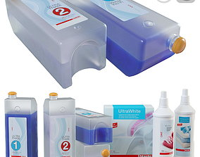 3D Set of containers with Miele ULTRA detergents