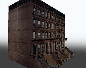 3D model New York Brownstone