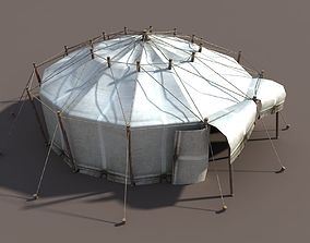 3D model Circus Tent White