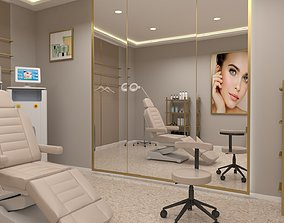 game-ready Beauty clinic 3D model