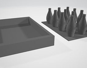 MIR Koka Kola- Pepsi Bin and Bottle 3D printable model