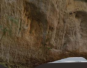 game-ready Big Cliff - 55 m - limestone 3D
