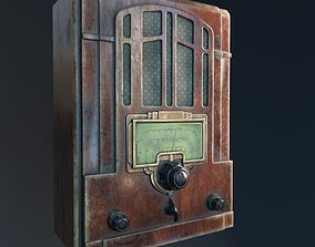 3D model game-ready PBR radio