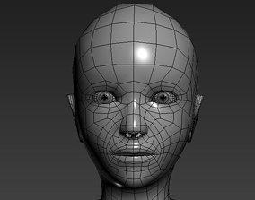 Male Low polygons base mesh 3D model