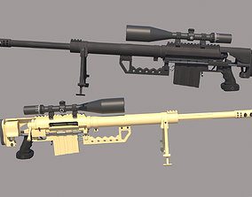 3D model M200 Intervention Sniper Rifle