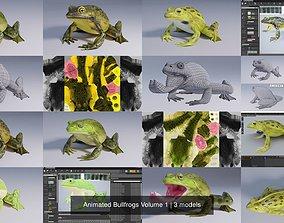 Animated Bullfrogs Volume 1 3D model