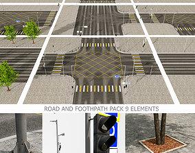 Road Fothpath Pack 3D asset