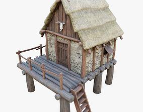 Celtic Storehouse PBR 3D asset
