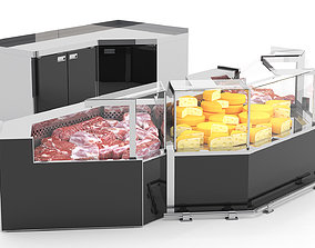 3D model Refrigerated Display Cases