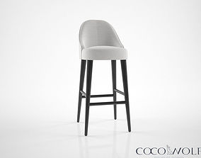 3D model Coco Wolf Zave bar stool