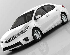 Toyota Corolla E170 Active 2014 detailed 3D