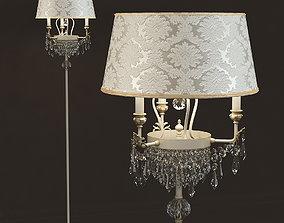 Floor lamp Masiero GLASSE 4010 STL3 P01 3D model