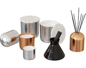 3D model Tom Dixon Candles