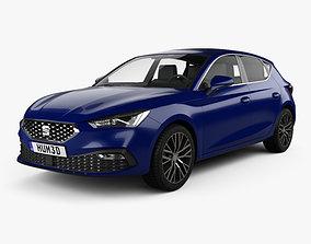 Seat Leon Xcellence 5-door hatchback 2020 3D model