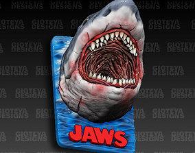 Jaws Magnet 3D model