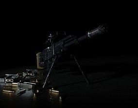 3D model Apocalipt 50R Sniper Rifle