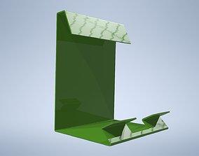 Holder for tablet - lasercut 3D asset realtime