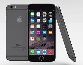 3D asset iPhone 6 Space Grey
