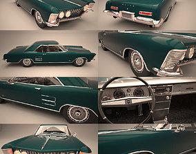 vehicle Buick Riviera 1963 3D