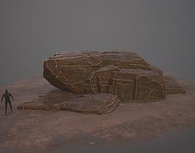 3D model Rock Desert Game Ready