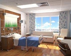 Patient Room 3D model