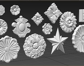 3D model Architectural Ornament - Decorative Gaudi
