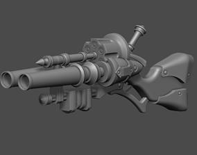 3D printable model Graves Shotgun LOL league of legends 2